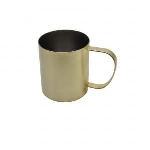 德國法克漫不鏽鋼馬克杯(淡金)